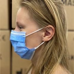 Afbeelding van B-OX chirurgische mondneusmaskers type II (50 stuks)